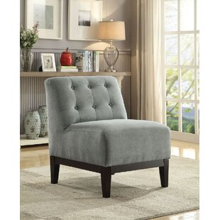 Red Barrel Studio Nelligan Fabric Slipper Chair