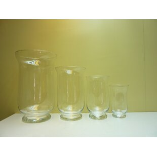 4 Piece Clear Outdoor Lantern Set By Freeport Park
