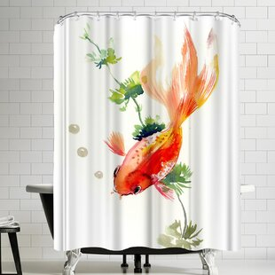 Suren Nersisyan Goldfish II Single Shower Curtain