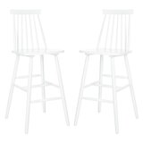 Solid Wood Bar & Counter Stool (Set of 2) by AllModern