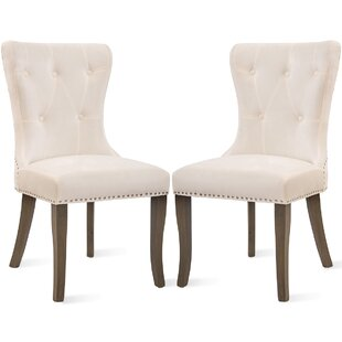 Dan Upholstered Dining Chair (Set of 2)