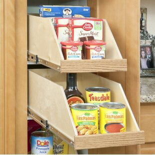 Slide-A-Shelf Full Extension Baltic Birch High Sided Slide-Out Shelf, 24