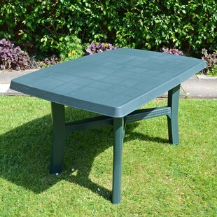 Huxley Plastic Dining Table By Sol 72 Outdoor