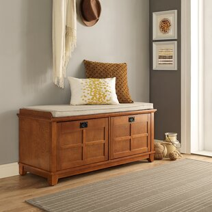 Lexie Fabric Storage Bench by Beachcrest Home