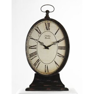 Tall Paris Table Clock