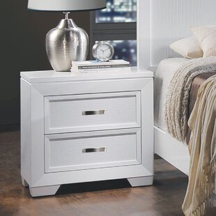 Brannigan 2 Drawer Nightstand by Orren Ellis