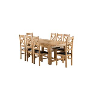 Apollonia Small Extending Dining Set With 8 Chairs By Gracie Oaks