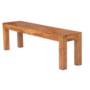 Jaipur Cargo Wood Bench By Ethnic Elements
