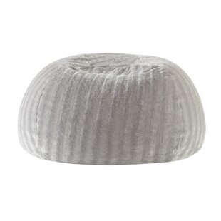 Stengel Faux Fur Shaggy Bean Bag Chair by Mercury Row