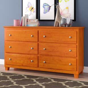Ogie 6 Drawer Double Dresser
