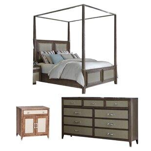 Biscayne West Canopy Configurable Bedroom Set