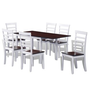 7 Piece Drop Leaf Dining Set by Winston Porter