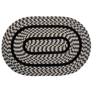 Order Bayside Braided Black Indoor/Outdoor Area Rug By August Grove