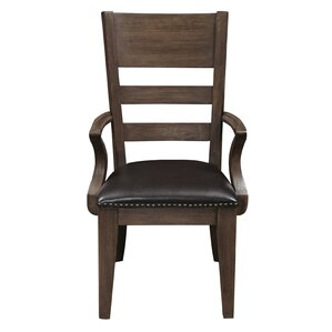 Fiorella Upholstered Wood Dining Chair by Union Rustic