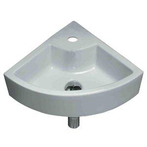 Ceramic Specialty Vessel Bathroom Sink