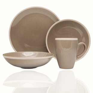 Sahara 16 Piece Dinnerware Set, Service for 4
