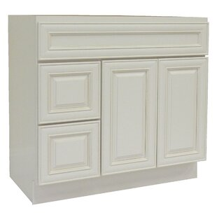 Cabinet 42 Single Bathroom Vanity Base by NGY Stone & Cabinet