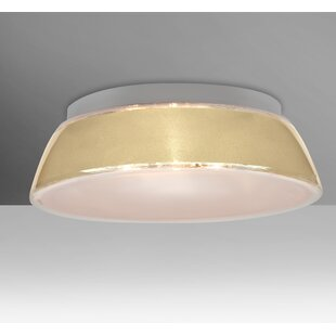 Compare Pica 2-Light Outdoor Flush Mount By Besa Lighting