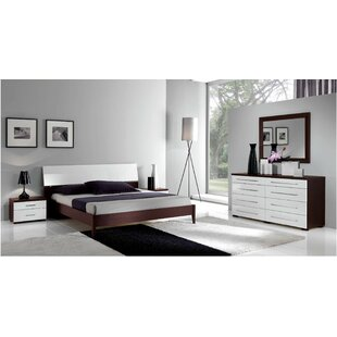 Noci Design Queen Platform 3 Piece Bedroom Set