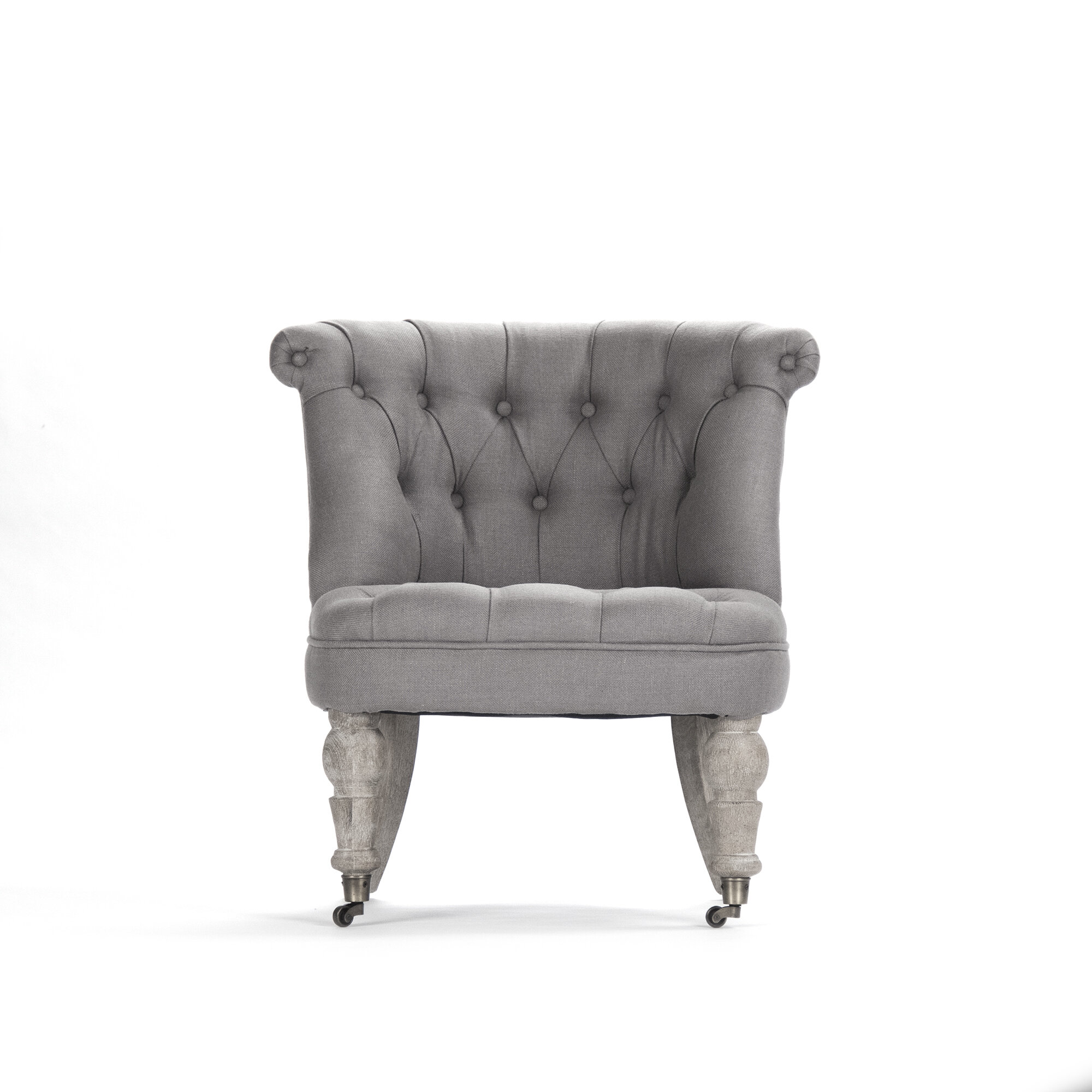 Picture of: Zentique Amelie Slipper Chair Reviews Wayfair