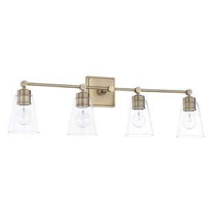 Modern antique brass vanity lighting allmodern save aloadofball Image collections