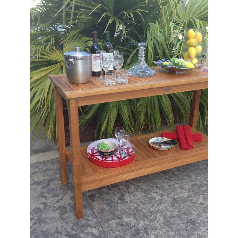 Santa Barbara Teak Console Table