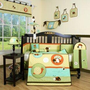 Top Boutique Garden Paradise 13 Piece Crib Bedding Set ByGeenny