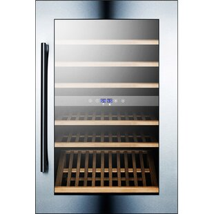 59 Bottle Dual Zone Built-In Wine Cooler