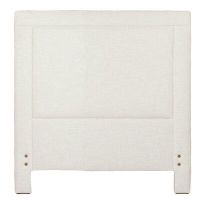 Sloan Upholstered Panel Headboard Gabby Size: Twin, Upholstery: Zulu Vanilla