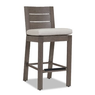 Laguna 40 Patio Bar Stool with Cushion Sunset West