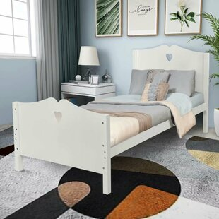 Throop Twin Solid Wood Sleigh Bed by Rosdorf Park