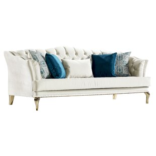 Reviews Patria Baby Face Sofa by House of Hampton Reviews (2019) & Buyer's Guide