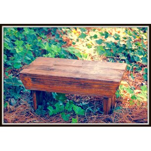 Siple Wood Garden Bench by Loon Peak