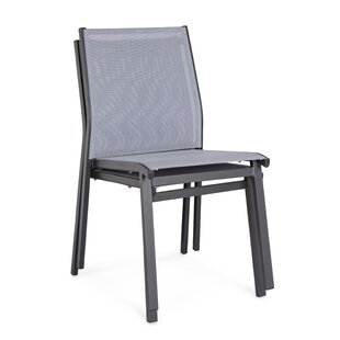 Alan-James Stacking Garden Chair By 17 Stories