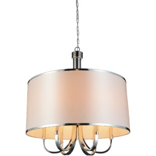 CWI Lighting Orchid 6-Light Chandelier