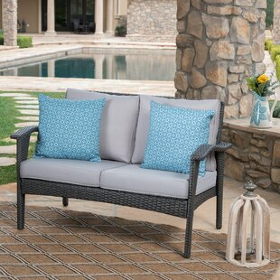 Hagler Outdoor Loveseat with Cushions
