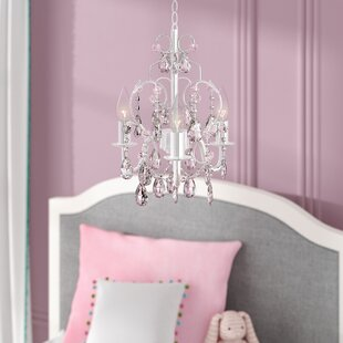 Girl Lamps For Bedroom Chandeliers Lighting Girls Crystal ...