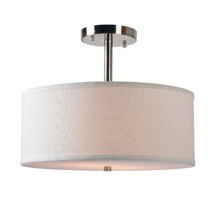 Shelley 2-Light Semi Flush..