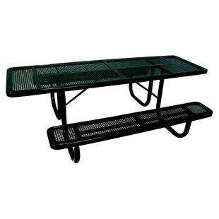 Extra Heavy Duty ADA Picnic Table with Perforated Pattern
