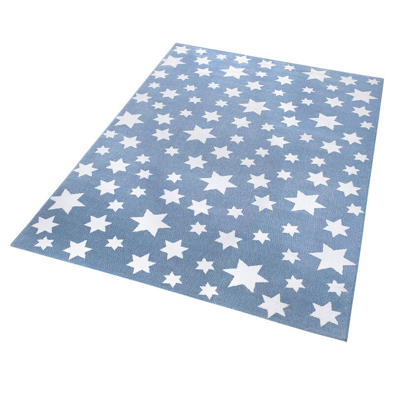 Wecon Home wecon home cosmic glamous light blue area rug reviews wayfair co uk