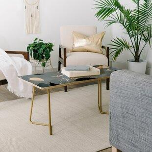 Iveta Abolina Scandi Ice Coffee Table by East Urban Home