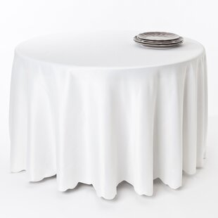 Lerna Satin Scalloped Edge Table Cloth Liner