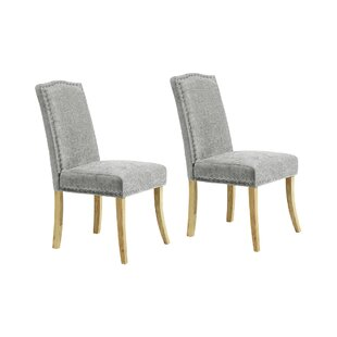 Looe Upholstered Dining Chair (Set Of 2) By Fairmont Park