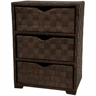 ooper 3 Drawer Nightstand by World Menagerie