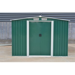 8 Ft. W X 6 Ft. D Shiplap Apex Metal Shed By WFX Utility