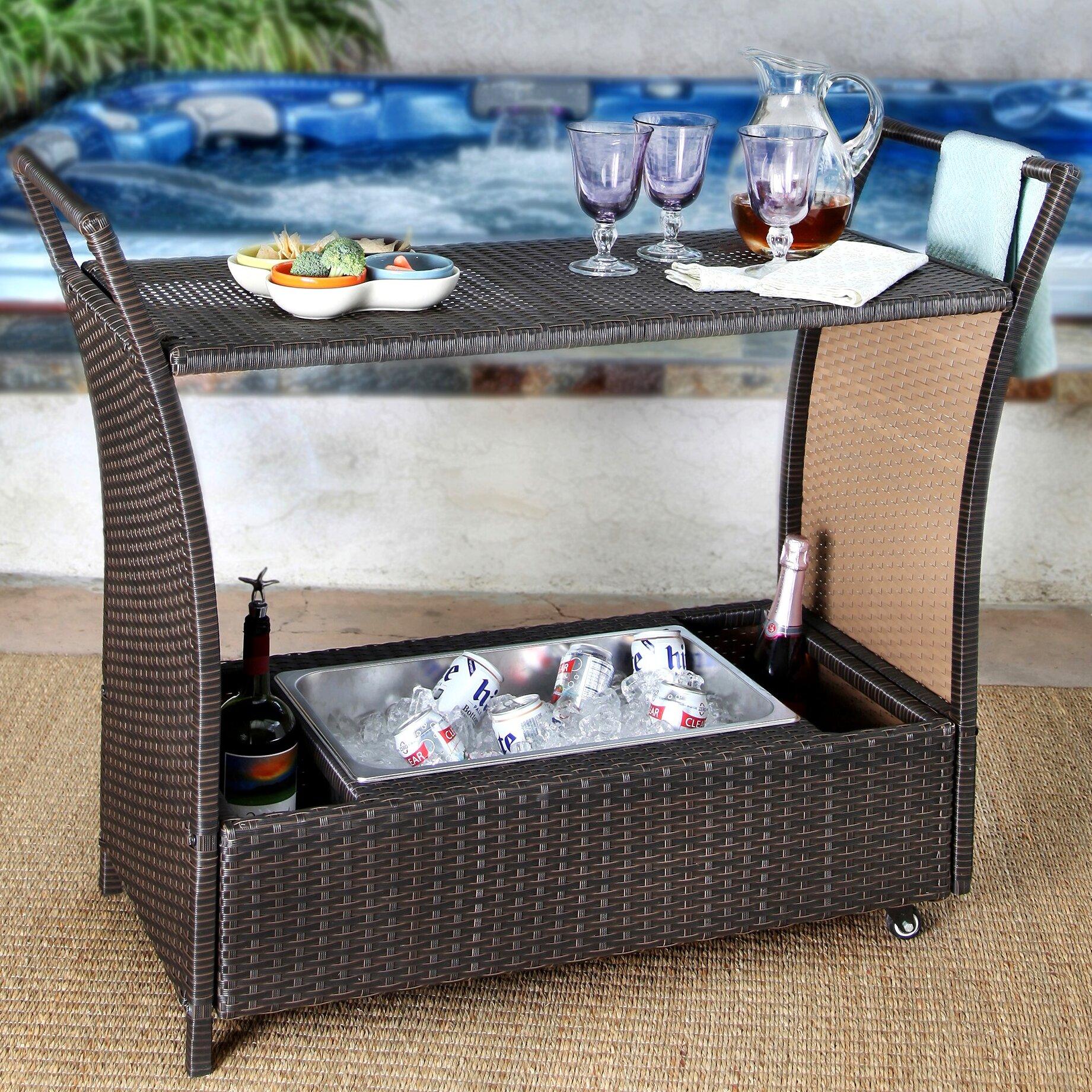 Brayden studio armonk cancun bar serving cart reviews wayfair