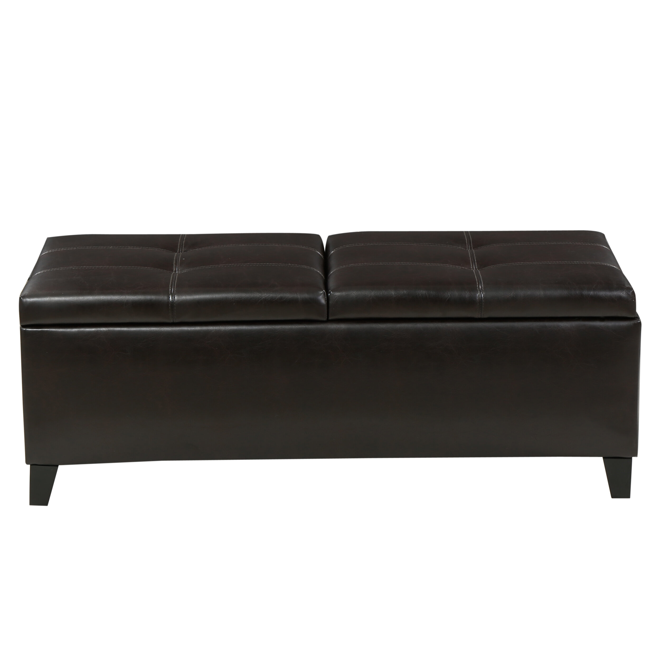 storage of seat black with grey me sofa ottoman full size large coffee leather photogiraffe bench