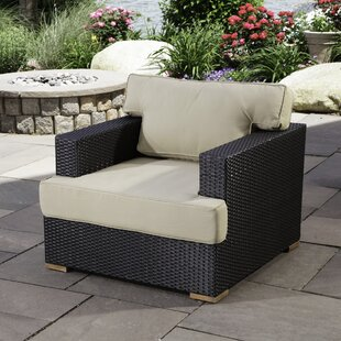 Salina Teak Club Patio Chair with Cushions