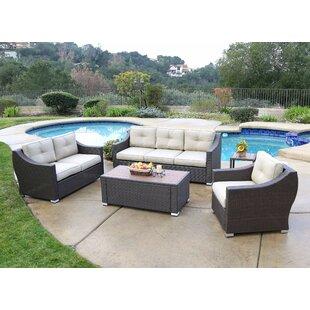 Latitude Run Leib 5 Piece Sofa Set with Cushion