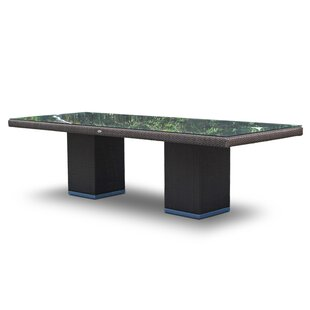 Glass Dining Table by Brayden Studio